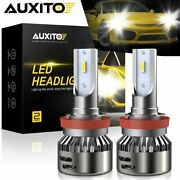 Auxito H11 Led Headlight Bulbs For Ram 1500 2500 3500 2013-2020 Low Beam 14000lm