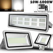 Led Flood Light Pir Motion Sensor 500w 300w 200w 150w 100w 50w 30w 20w 10w Lamp