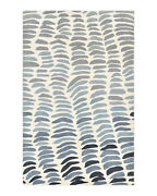 Solo Rugs - Layla Contemporary Modern Hand-knotted Area Rug Ivory Multi