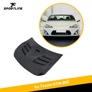 Carbon Fiber Front Hood Cover Body Kit For Toyota Gt86 2017up Subaru Brz 13-20