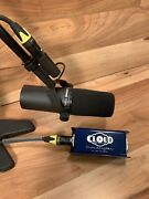 Shure Sm7b W/ Cloud Microphones Cl1 Cloudlifter 25db Booster And 6and039 Cable
