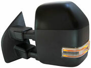 Left - Driver Side Mirror Fits Ford F250 Super Duty 2017-2019 35fttd