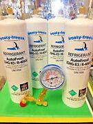 Autofrost,r406a, Refrigerant, Ghg-x3, R-406a, 4 28 Oz. Check And Charge It Gauge