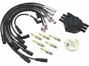 Distributor Cap Rotor Spark Plugs And Wires Kit Fits Express 1500 69nwmx
