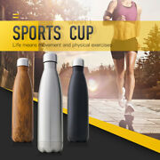 Stainless Steel Water Bottle Double Wall Vacuum Insulated Bottle Water Flask Uk
