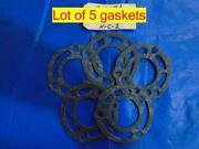 Lot Of 5 Manifold Gaskets Fits Some Round Manifolds