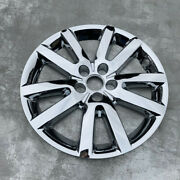 4x Car Silver 18 Hubcaps For Ford Edge Wheel Cover Hub Rim Cover Set