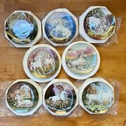 Enchanted World Of The Unicorn Plate Collection From Princeton Galleryandnbsp