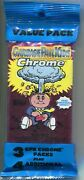 Garbage Pail Kids Chrome Series 1 Factory Sealed Value Pack Box - 12 Value Packs