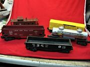 Lionel Post-war 5 Pc. Freight Car Lot - Overall Nice Condition 1