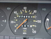 Volvo 240 Gauge Cluster K9800 1990 Wagon. Only Correct For 1990. 279091 Miles
