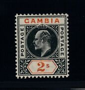 Gambia Sg 54 Var Mhr Slotted Frame Variety