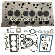 D905 Complete Cylinder Head Assy And Full Gasket For Kubota B1700d Bx2200d Bx23d