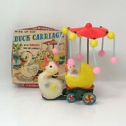 Vintage O.k.d. Duck Carriage With Carousel, With Box Top, Japan