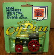 1919 Rumely 16-30 Oil Pull Tractor 1/64 Scale Models Toy 1989 Farm Progress Show