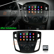 For 2012-2017 Ford Focus 9 Touch Screen Android 9.1 Car Radio Bt Gps Navigation