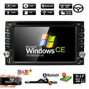 Backup Camera+car Gps 6.2 Stereo Radio 1080p Cd Dvd Player Bluetooth With Map