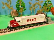 Soo Line, Dcc Ready, Diesel Locomotive, Gp38-2, Road 4407, Walthers, New In Box
