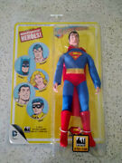 Ftc Mego Worlds Greatest Heroes Superman Figure Limited Card Only 100 Made