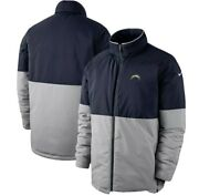 Nike Los Angeles Chargers Sideline On Field Shield Jacket Size Large Official La