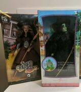 The Wizard Of Oz Barbie Doll Lot Of 2 Wicked Witch Of The East And West Nrfb Htf