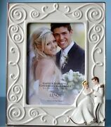 Lenox Disney Cinderella And The Photo Frame 5x7 Happily Ever After New