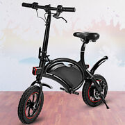 Brand 12and039and039 350w Folding Electric Bike City Bicycle 36v Ebike 2 Disc Brakes