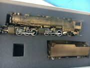 Pacific Fast Mail Cando 2-6-6-2 Class H-6 Brass Unpainted Locomotive And Tender
