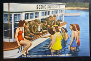 Mint Usa Color Picture Postcard Advertising Ppc Silver Springs Florida