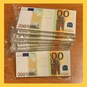 Souvenir Banknote 200 Euro 11 Package 95100pcs New. The Size Is Smaller.