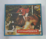 Vintage 1970s Greek Rare Race Horse Boardgame By Aper Toys
