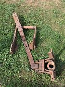 Allis Chalmers Wd Wd45 Snap Coupler Drawbar Complete