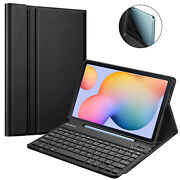 For Samsung Galaxy Tab S6 Lite 10.4and039and039 2020 Sm- P610 Case W/ Detachable Keyboard