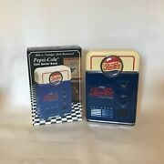Vintage 1996 Pepsi-cola Soda Coin Sorting Counting Bank Machine W/ Box Excellent