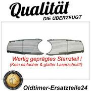 Geprägtes Radiator Grill Grille Grill Set Hint. Mercedes W113 Pagode Ornament
