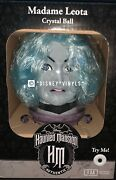 New Animated Madame Leota Crystal Ball Disney Haunted Mansion In Hand