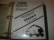 Timbco T820-c Hydro-skidder Parts Manual Issued 2000