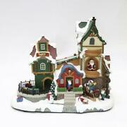 Enchanted Forest Musical Animated Toy Factory Village Building