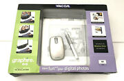 Wacom Graphire4 6x8 Usb Graphics Drawing Tablet - Mouse - Pen - Free Shipping