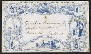 1858 Tom Thumb Advertising Envelope Wriiten By Barnum To Inverness - Circus