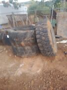 2 Tractor Tires 16 R 21. 1 Tractor Tire Size 19.5 L24