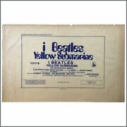 The Beatles Yellow Submarine Promotional Posters Italy