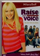 Raise Your Voice Dvd Hilary Duff's Best Film Small Town Girl With A Big Voice