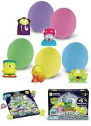 Learning Resources Beaker Creatures Monsterglow 5-pack, Science Exploration, Sli