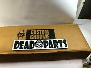 Harley Santee Softail 2andrdquo Straight Cut Rolled Edge Exhaust Drag Pipes Fatboy
