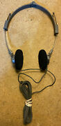 Panasonic Vintage Stereo Headphones Rp-9515 Tested And Work Perfect Free Shipping