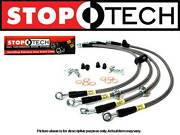 Stoptech Stainless Steel Front Set Brake Lines 04-09 Mazda Rx-8 1.3l All Model