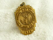 Bz Ahepa 1938 7th Convention New Haven Conn Medallion Medal