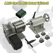 A Axis Cnc 4th Axis Rotary Tailstock For Cnc Router Dividing Head Cnc3040 6040
