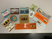 Mixed Lot Belland039s Brewery Stickers- Oberon Pooltime Oatsmobile Hopslam And More New